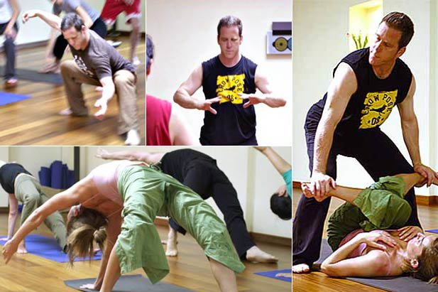 Sifu Matthew Cohen teaching his Sacred Energy Arts to the INNERCITYOGA members