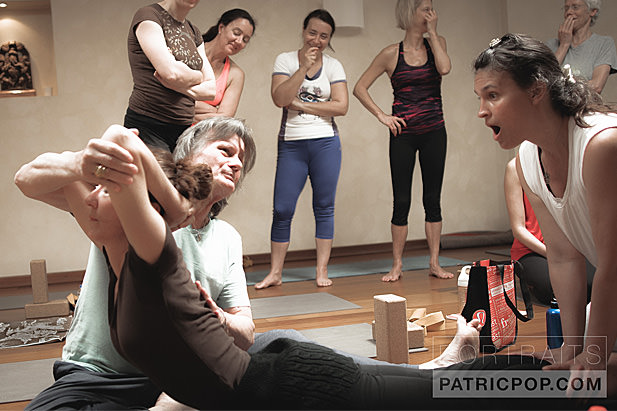 Stage intensif  et  formation  de yoga à  Geneve  à INNERCITYOGA avec  Chad Hamrin