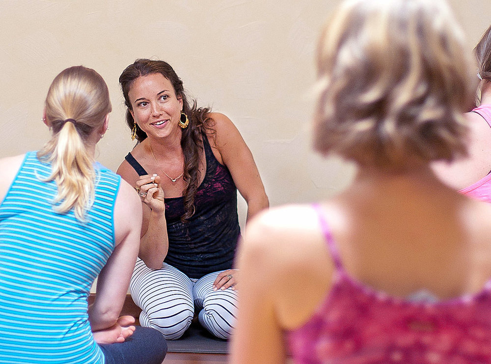 Atelier de yoga basé sur l'anatomie avec Tiffany Cruikshank à Geneve au studio INNERCITYOGA®
