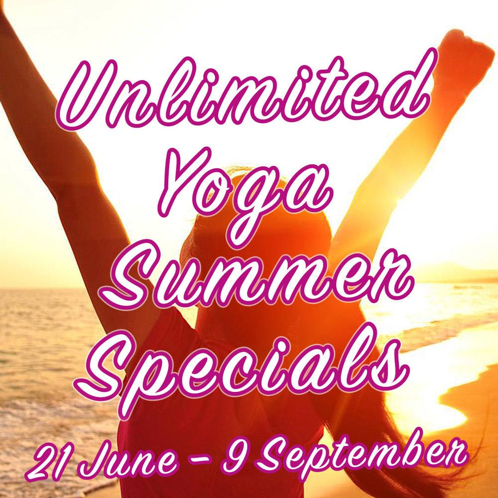 Unlimited Yoga Summer Specials at INNERCITYOGA in Geneve / Geneva