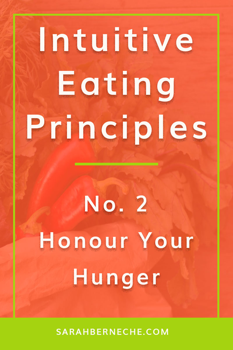 Emotional eating | Intuitive eating | body positive | health at every size | holistic nutrition | food psych. Intuitive eating principle: No 2 honour your hunger.