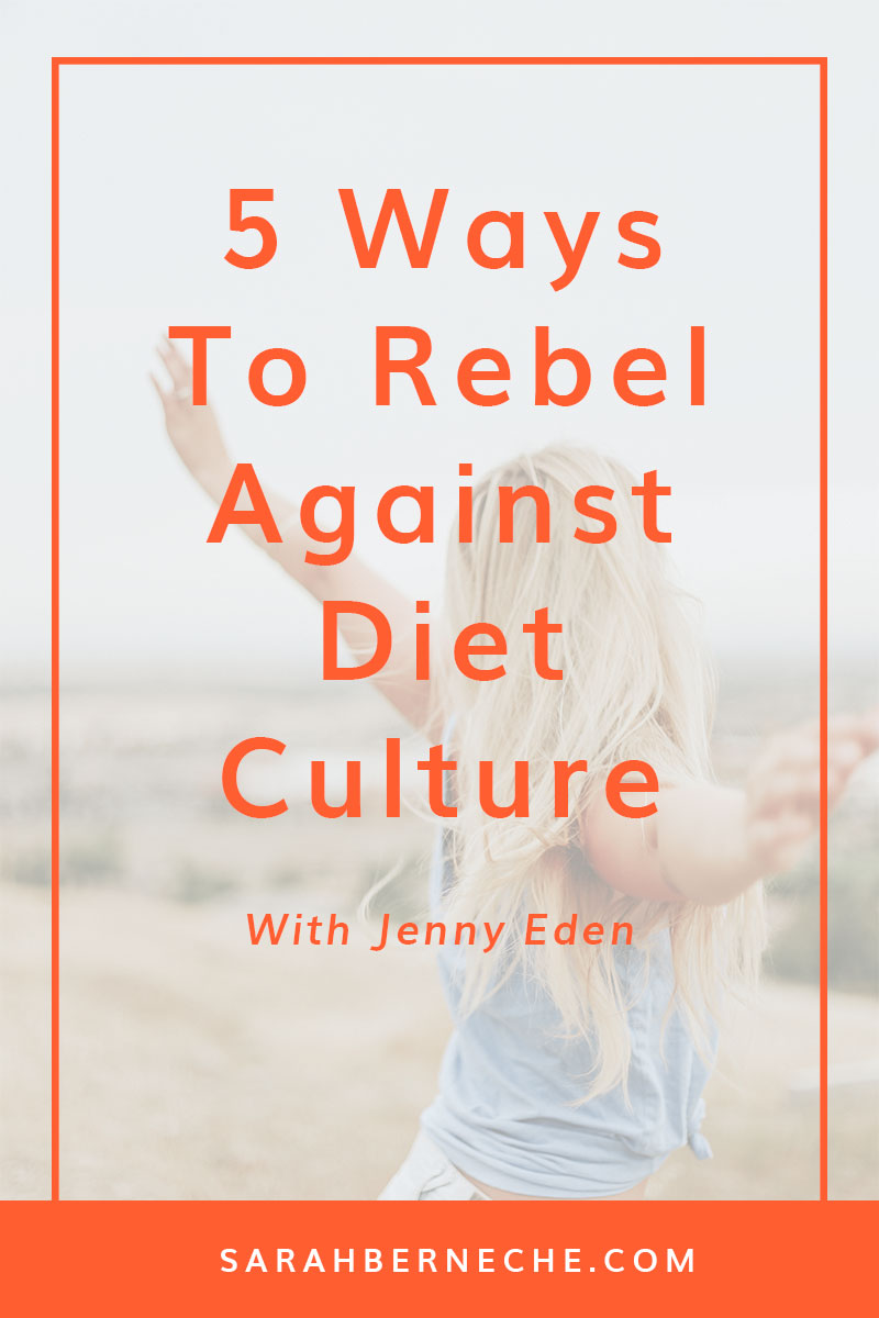 Body positive | body image | intuitive eating | emotional eating | mindfulness | feminist | anti-diet project | resolutions | eating psychology | binge eating. Tired of cleanses, detoxes, and diets? Check out these 5 tips to rebel against diet culture.