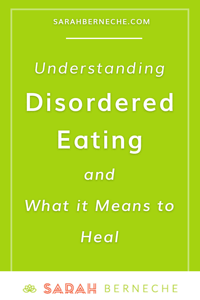 Intuitive eating, health at every size, body positivity, holistic nutrition. What is disordered eating and what does it mean to heal from diet culture?
