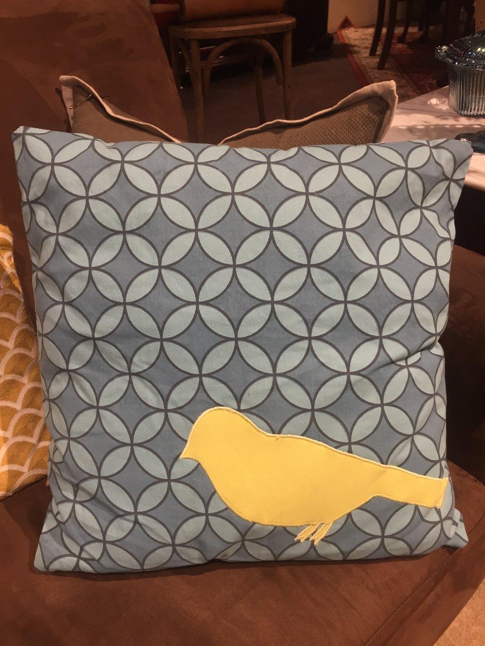 Blue Bird Pillow       10833