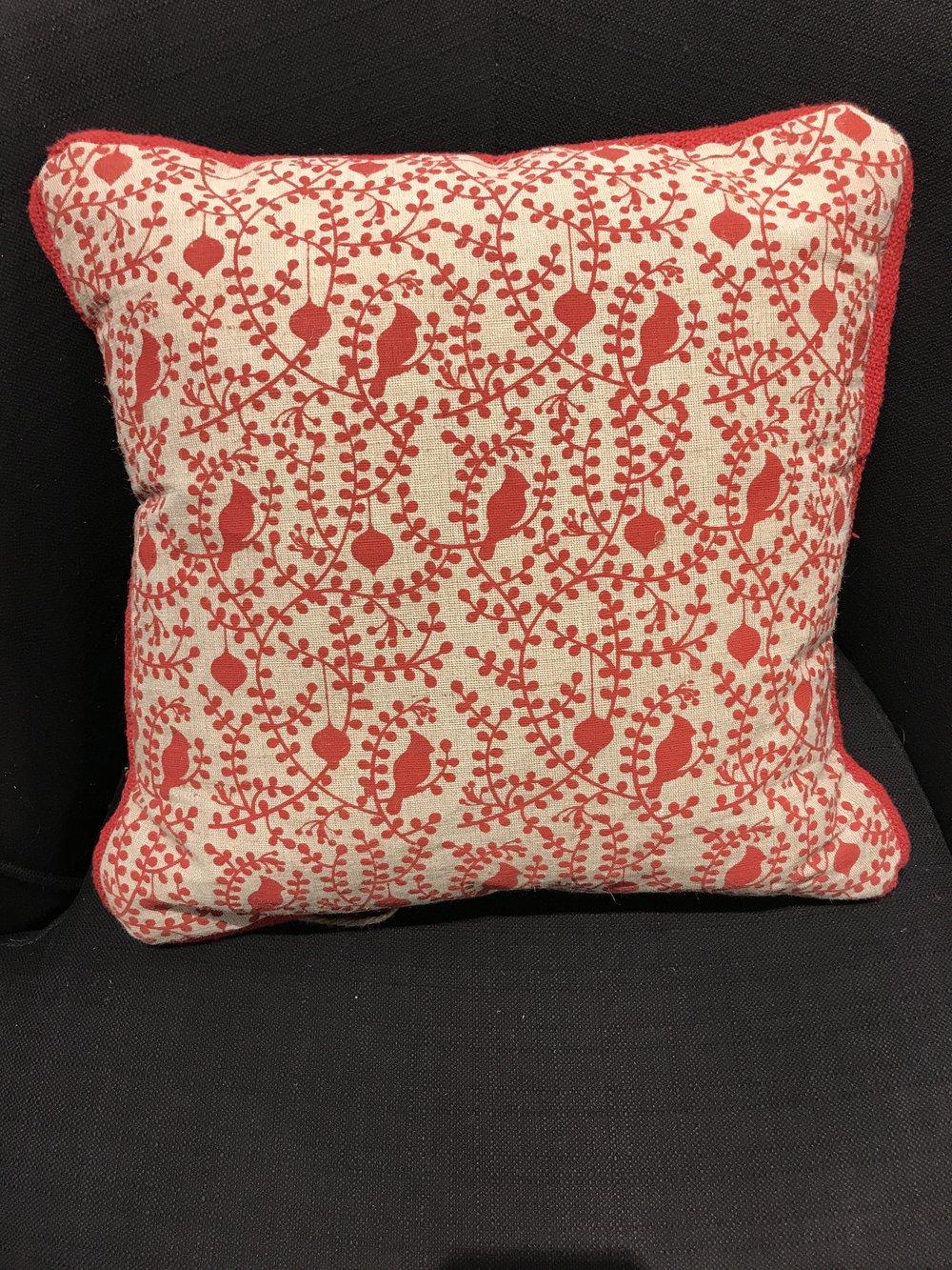 Red Bird Pillow    15166