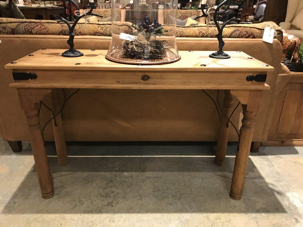 Pine Sofa Table  001    16094