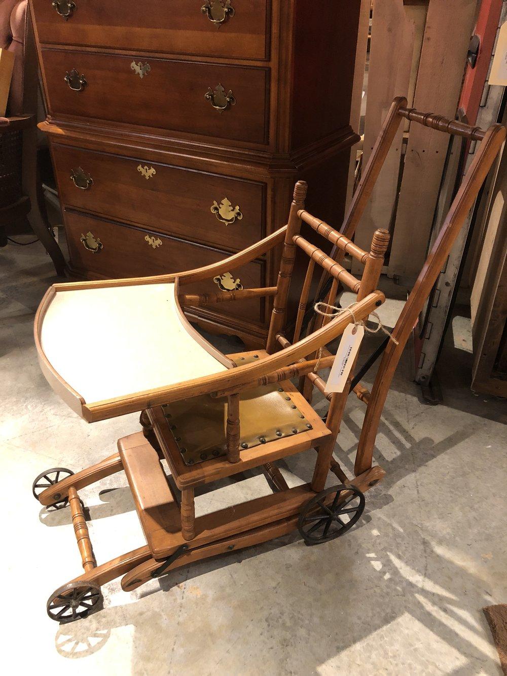 1800's Convertible Highchair/ Stroller $179.95 - C0907 17412
