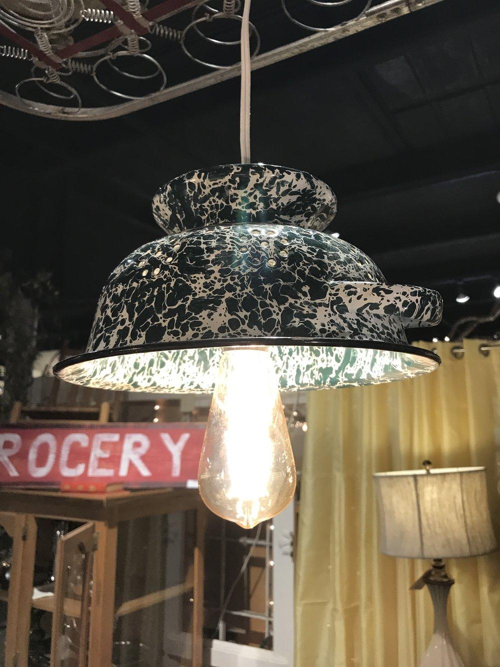 Hanging Pan Light $69.95 10545