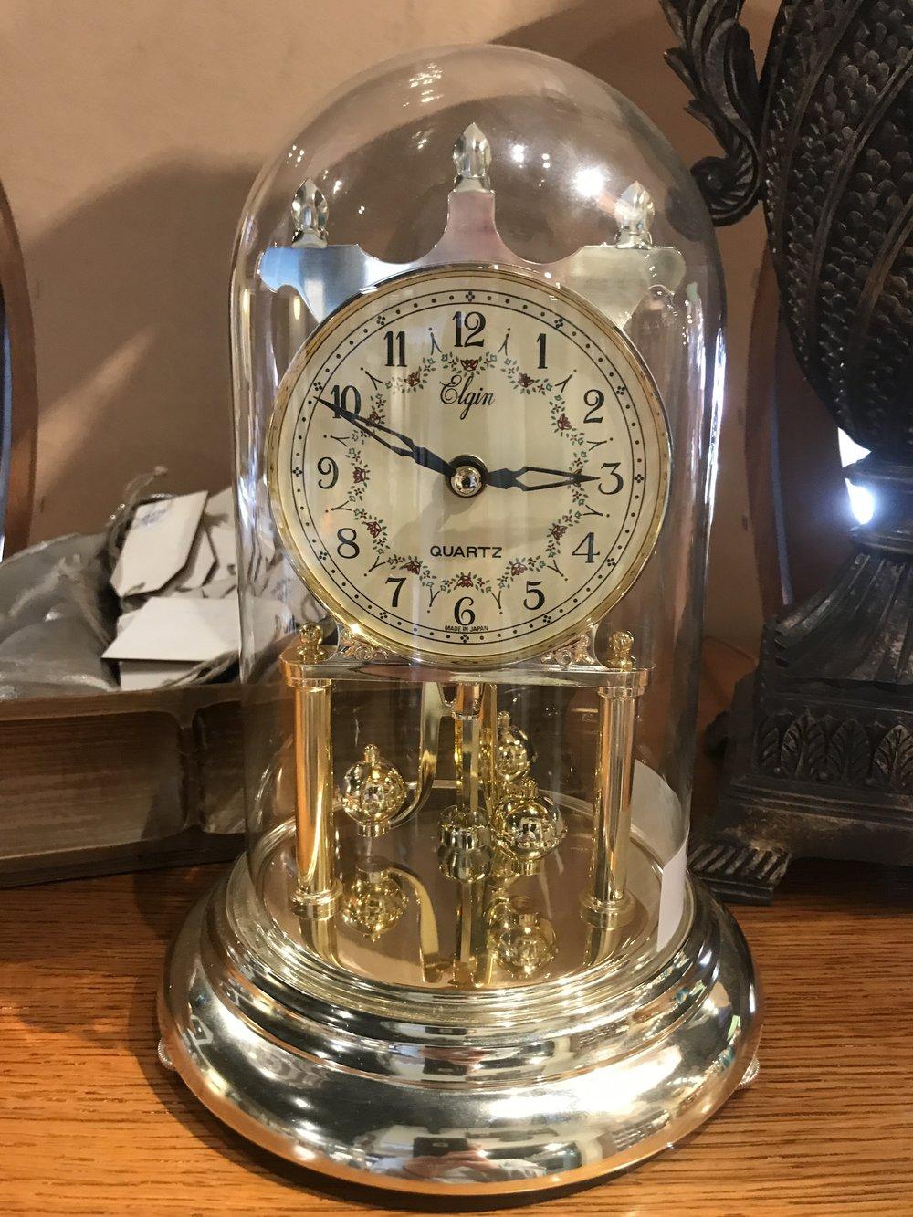 Elgin Domed Clock   C0913 -  17874
