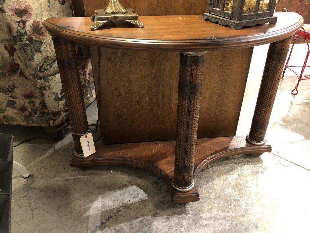 Half Moon Table $99.95  C0859   -   15991