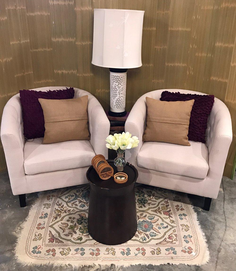 Cream Barrel Chair     19650    -C0954