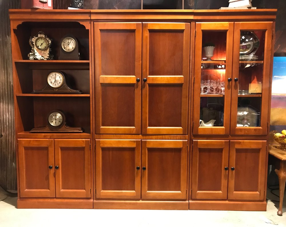 Hooker Cabinet plus one with Glass     C0982  -   19692