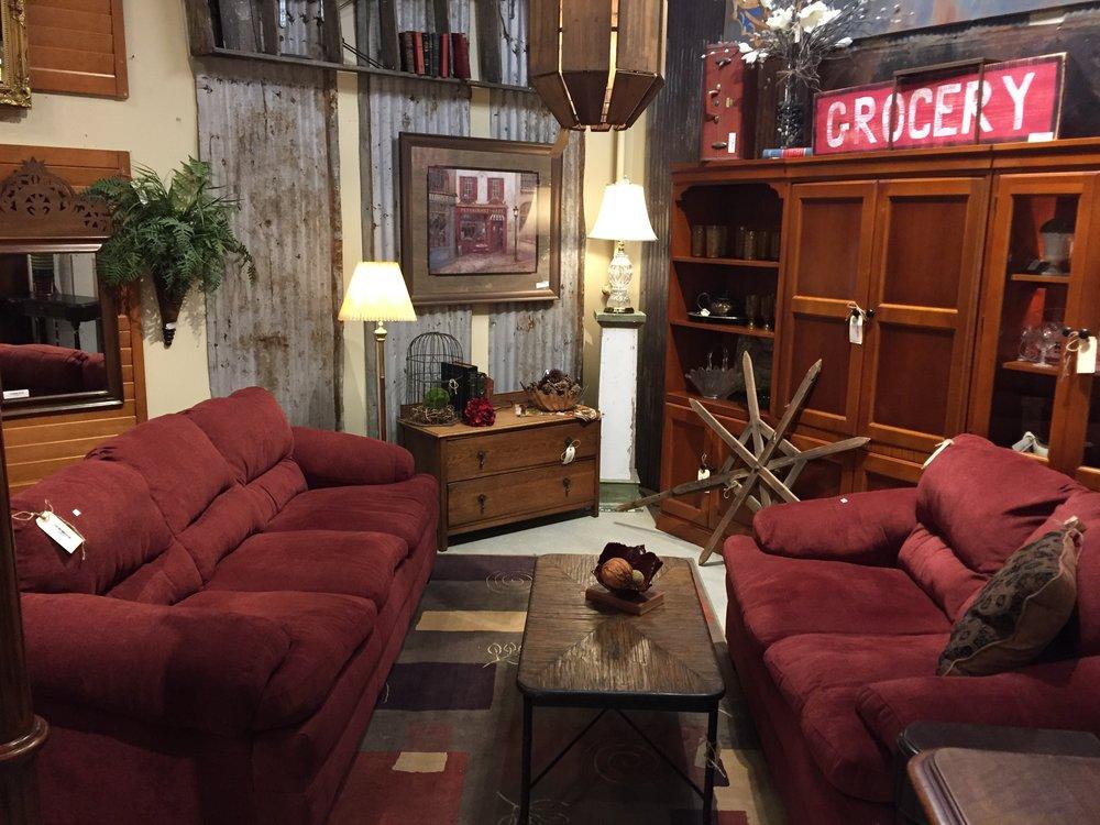 Maroon Sofa $299.95 & Love Seat $179.95 C1006  -  20865- 20866