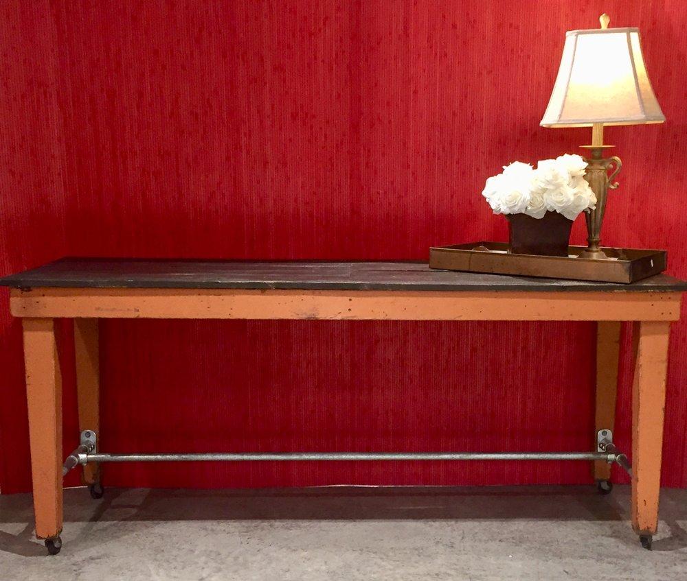 Vintage Industrial Table   C0847  -  21452
