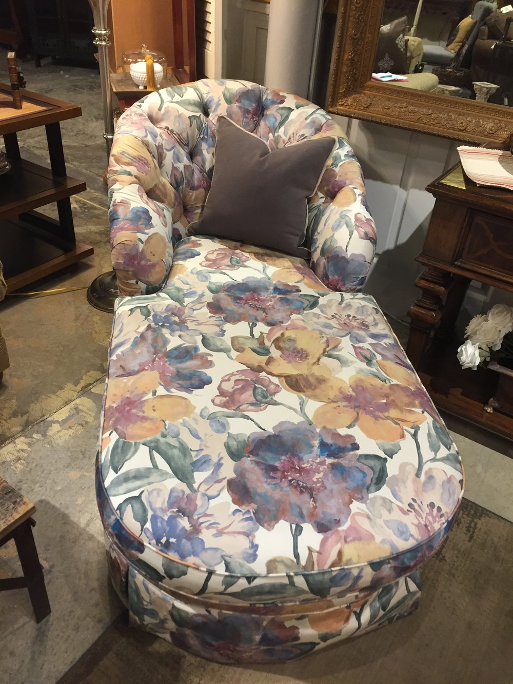 Floral Chaise $299.00 C1023