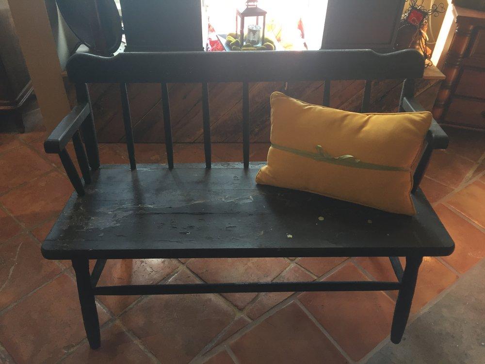Black Primitive Bench $79.95 - C1038 21727