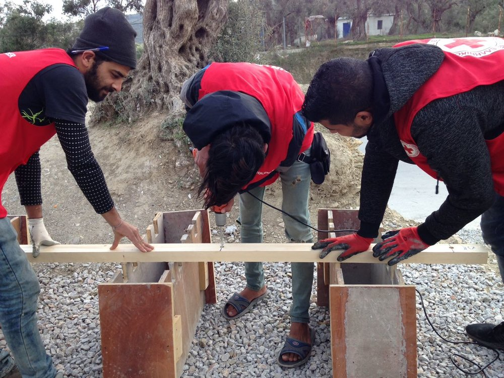 Olive Grove Participatory Construction 2 -