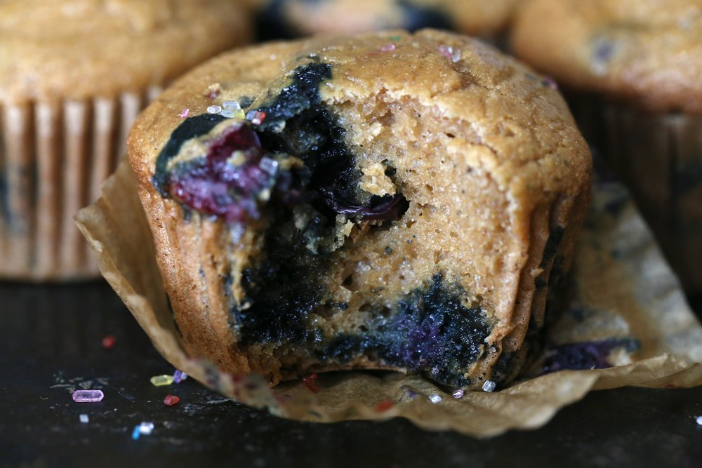 Legit Blueberry Muffins