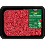 93% Lean/7% Fat, Lean Ground Beef Tray, 1 lb $5.18