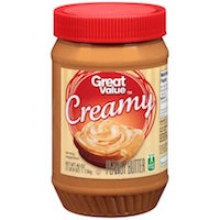 Great Value Creamy Peanut Butter, 40 ounces Rollback $4.37
