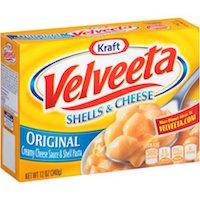 Kraft Original Velveeta Shells & Cheese, 12 oz $2.40
