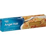 Great Value Angel Hair Pasta, 16 oz $1.00