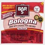 Bar-S America's Favorite Bologna, 16 oz $1.38