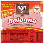 Bar-S Thick Bologna, 12 oz $0.98