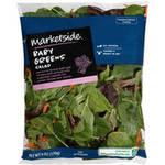 Marketside Baby Greens Salad, 6 oz $2.98