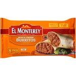 El Monterey Bean & Cheese Burritos, 8 Ct/32 Oz $3.42