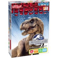 Kellogg's Jurassic World Fruit Flavored Snacks, 10 count, 8 oz $2.00 (was $2.28)
