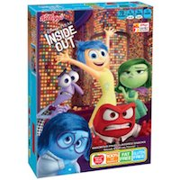 Kellogg's Disney/Pixar Inside Out Fruit Flavored Snacks, 10 ct, 8 oz $2.04 (was $2.38)