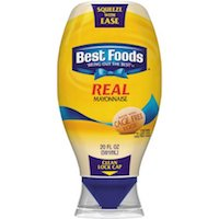 Best Foods Squeeze Real Mayonnaise, 20 oz $3.59 (was $3.98)