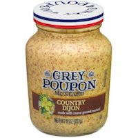 Grey Poupon: Country Dijon Mustard, 8 oz $2.88