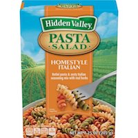 Hidden Valley Pasta Salad, Homestyle Italian, 7.25 oz $2.24
