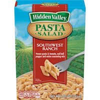 Hidden Valley Pasta Salad, Southwest Ranch, 6.9 oz $2.24