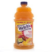 Welch's Mango Twist Fruit Juice Cocktail Blend, 96 Oz Bottle $2.98