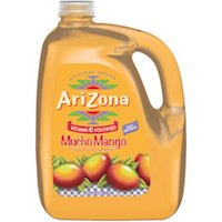 AriZona Mucho Mango Fruit Juice Cocktail, 1 gal $2.78