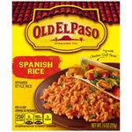 Old El Paso Spanish Rice, 7.6 oz $1.68
