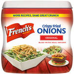 French's French Fried Onions, 6 oz $3.46