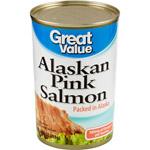 Great Value Alaskan Pink Salmon, 14.75 oz $2.98