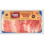 Great Value Original Bacon, 16 oz $3.74
