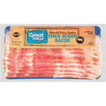 Great Value Thick Sliced Bacon, 1 lb $3.50