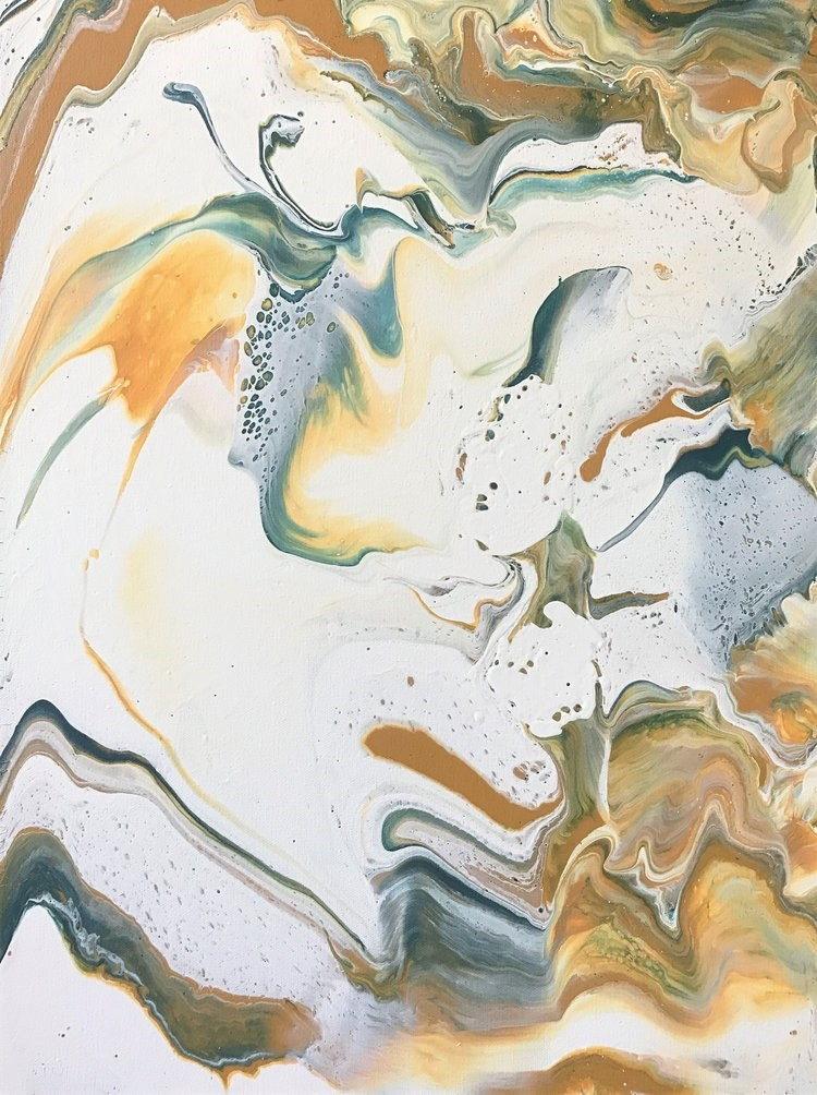 "18""x24"" Sunshine State of Mind  Acrylic on Canvas"
