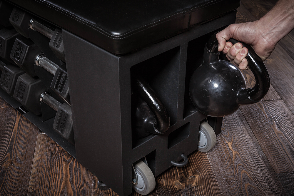 FITBENCH | find a home for your kettlebells