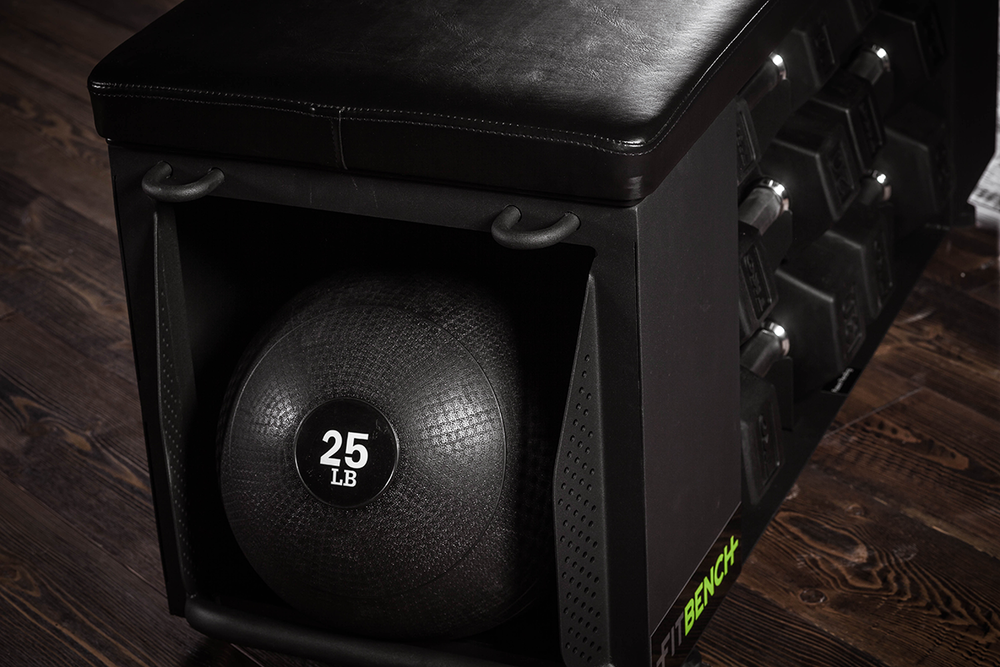 FITBENCH | Slamball storage included
