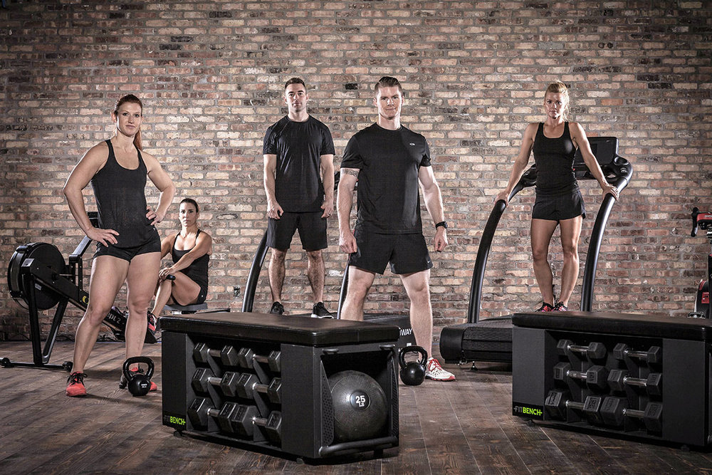 FITBENCH | your group training fitness bench solution