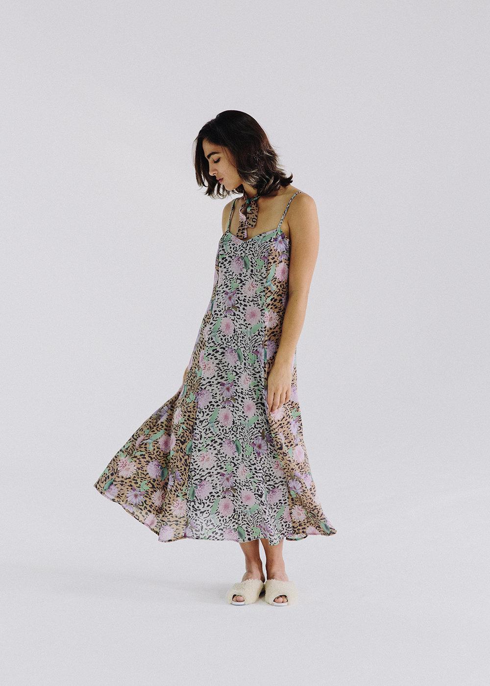 'The Runaway' dress in Wild Dahlia,  $328