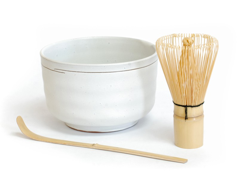 Art of Tea ceremonial matcha bowl set, $35