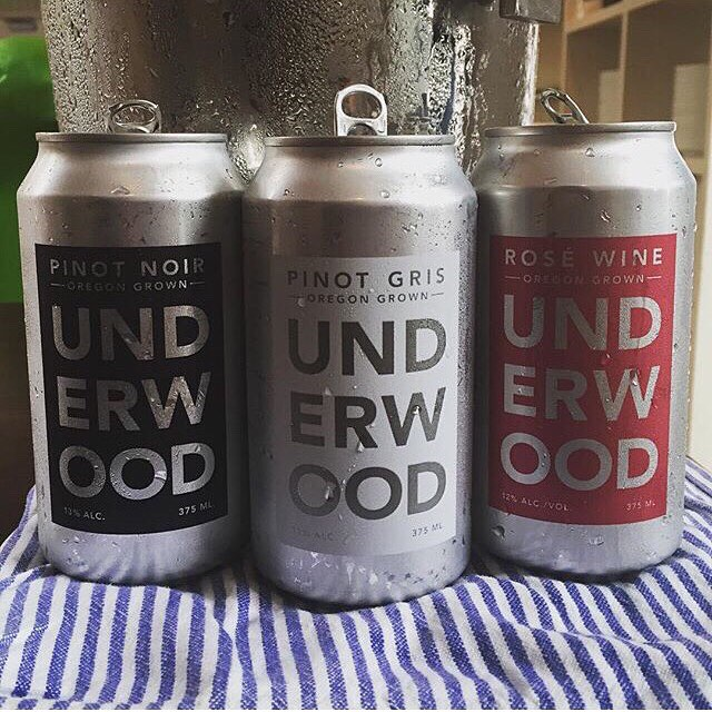 Underwood Wine Co. canned wine, $28 (four pack)